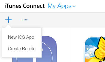 iTunes Connect Add App