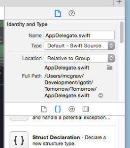 Xcode Snippets